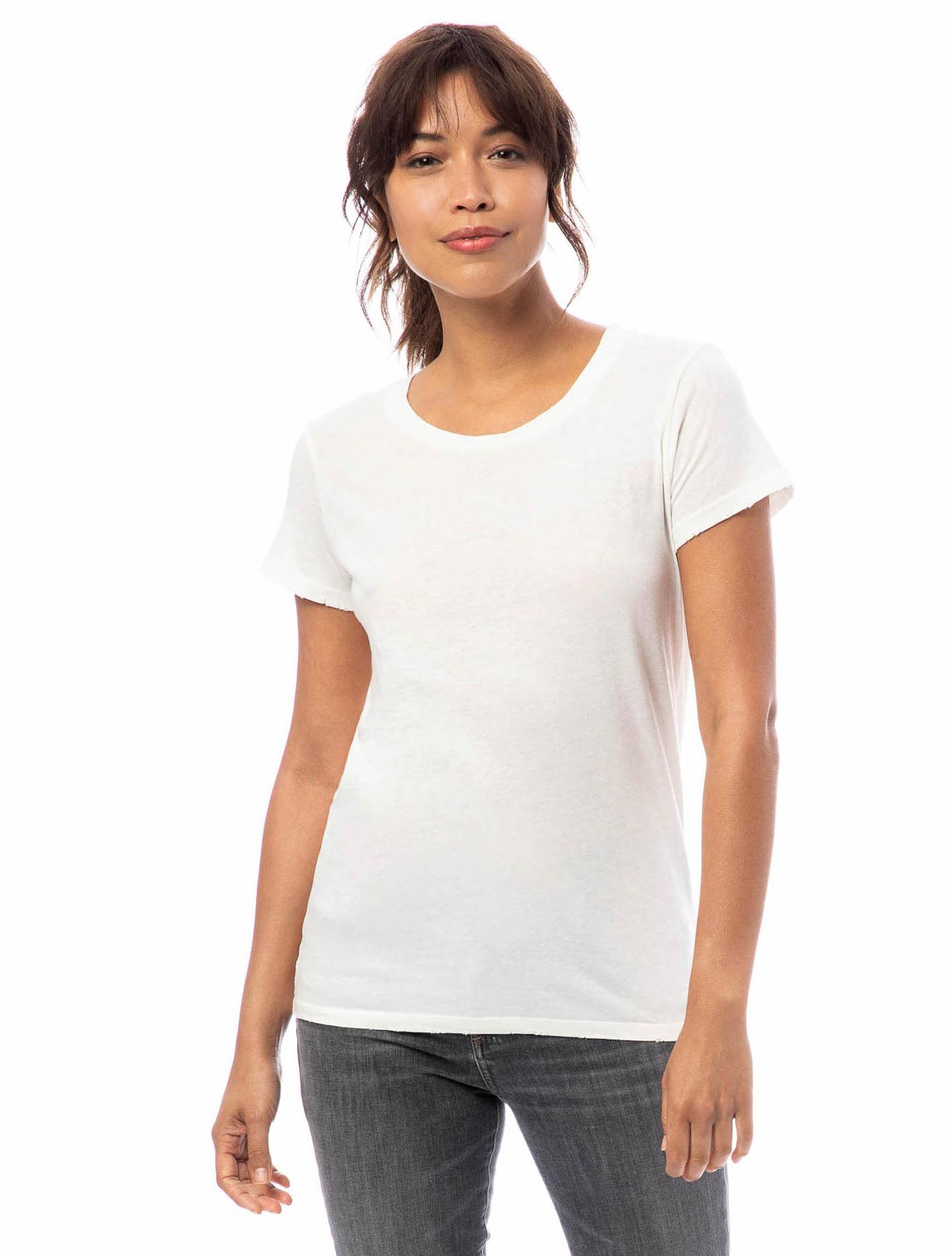 Vintage Garment Dyed Distressed T-Shirt