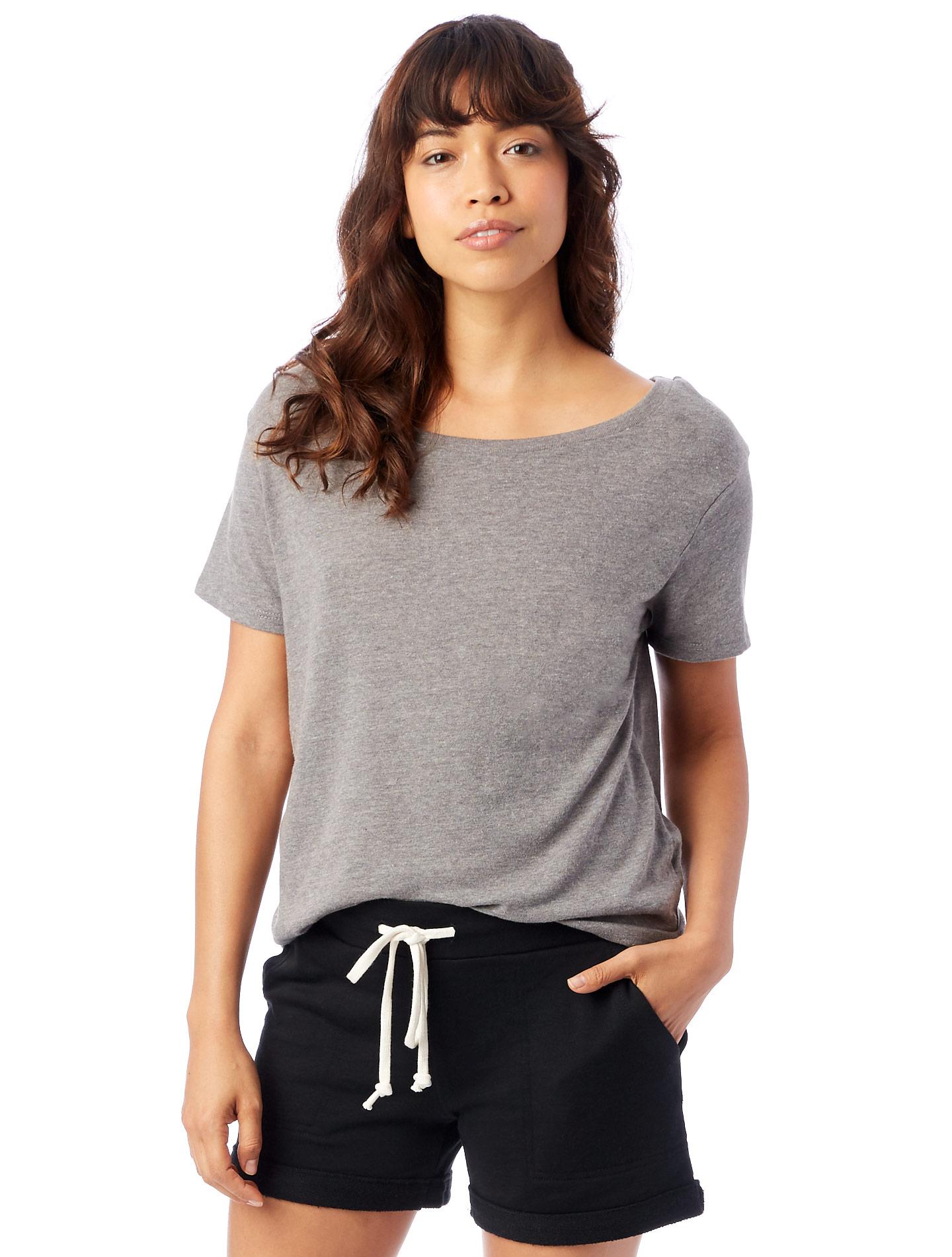 b3c75ff6c9ec3 Alternative Apparel Backstage Vintage Jersey T-Shirt 607048772038