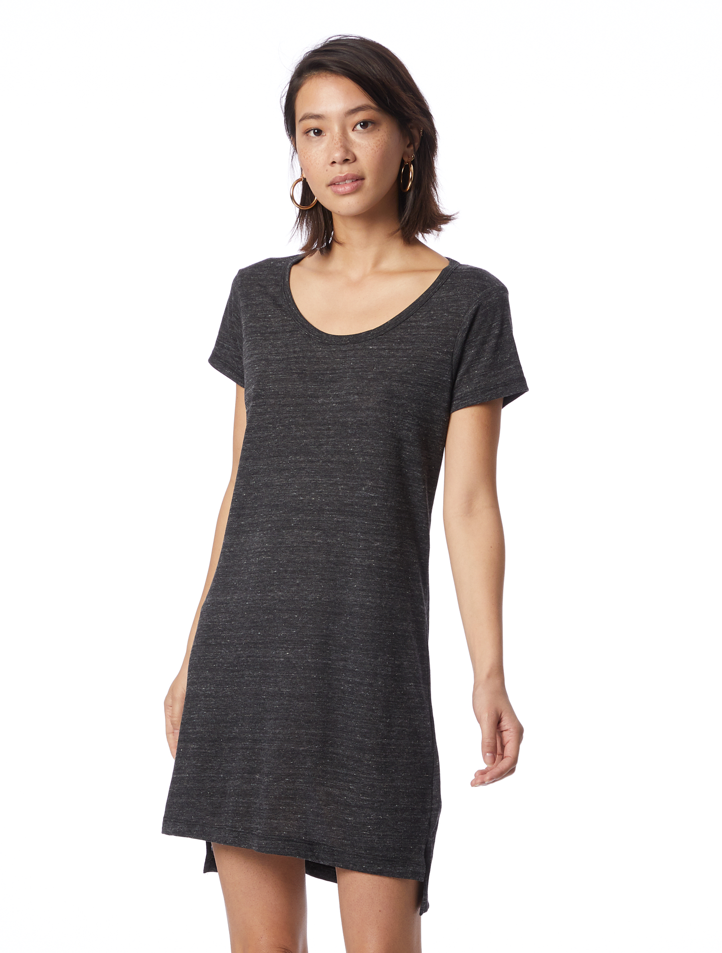 Made in U.S.A Eco-Jersey T-Shirt Dress