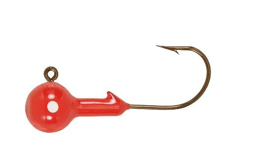 Lot 3 H&h Leurre B1610-01 Rouge 1/16 Oz Eau Douce Balle Pêche Jig Heads-pack De 10-afficher Le Titre D'origine Vente De Fin D'AnnéE