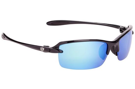 a26c0e30c6 Strike King SG-SKP311 Polarized Fishing Sunglasses Black Mirror Blue ...
