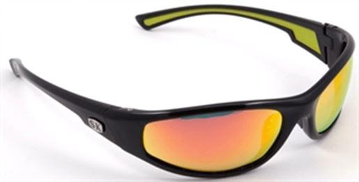148405996f Strike King SG-SKP20 SK Plus Polarized Sunglasses Black Orange - Fishing
