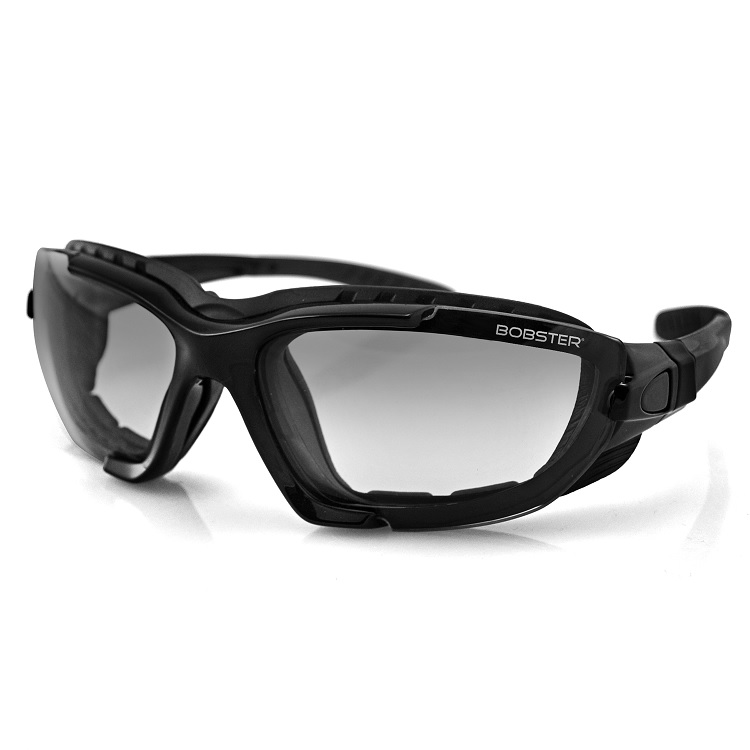 9a9ac19eaa Bobster BREN101 Renegade Convertible Black Sunglasses PhotoC Lens