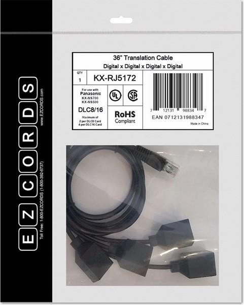 EZCORDS KX-RJ5170 DHLC4 NS700 Translation Cable