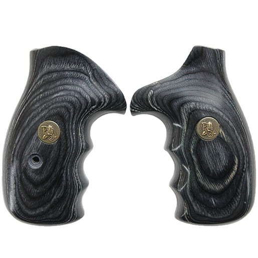 Pachmayr-Deluxe-Revolver-Renegade-Wood-Laminate-Grip-for-Various-S-amp-W-Handguns