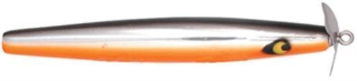 """Smithwick Af131ob Chrome/noir/orange 4.5"""" Devils Cheval Leurre De Pêche Leurre-range 4.5"""" Devils Horse Topwater Fishing Lurefr-fr Afficher Le Titre D'origine"""