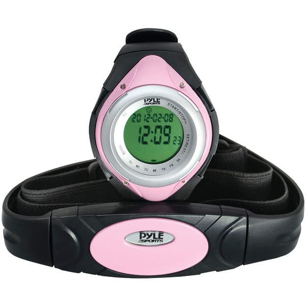 Pyle PHRM38PN Heart Rate Monitor Watch Average & Maximum Hea