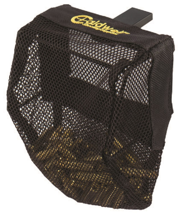 Details about Caldwell 530143 Fully Adjustable Rifle Pic Rail Picatinny  Brass Catcher Mesh Bag