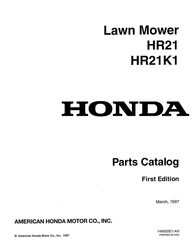 honda parts catalog
