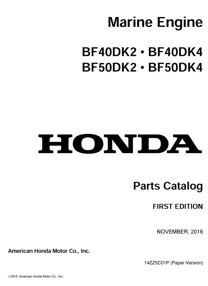 Honda Marine | Shop Manuals Publications | Honda Power Products