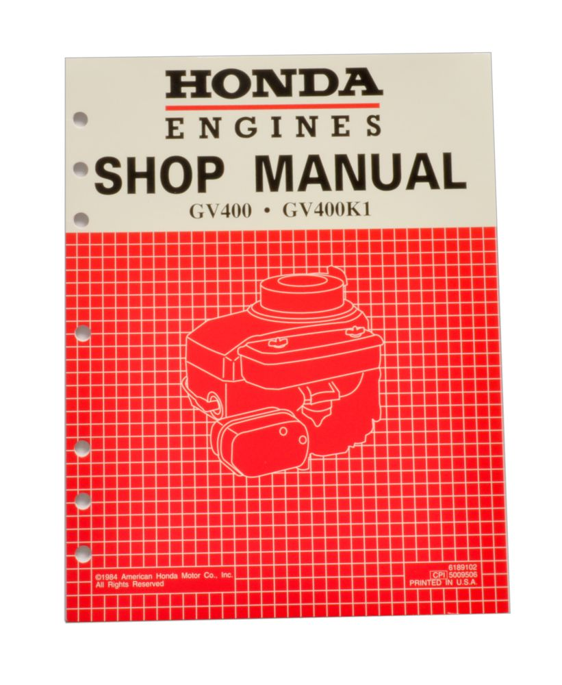 Honda Gx160 Engine Shop Manual Pdf 2019 Ebook Library Wiring Diagram Gv400 Service Repair