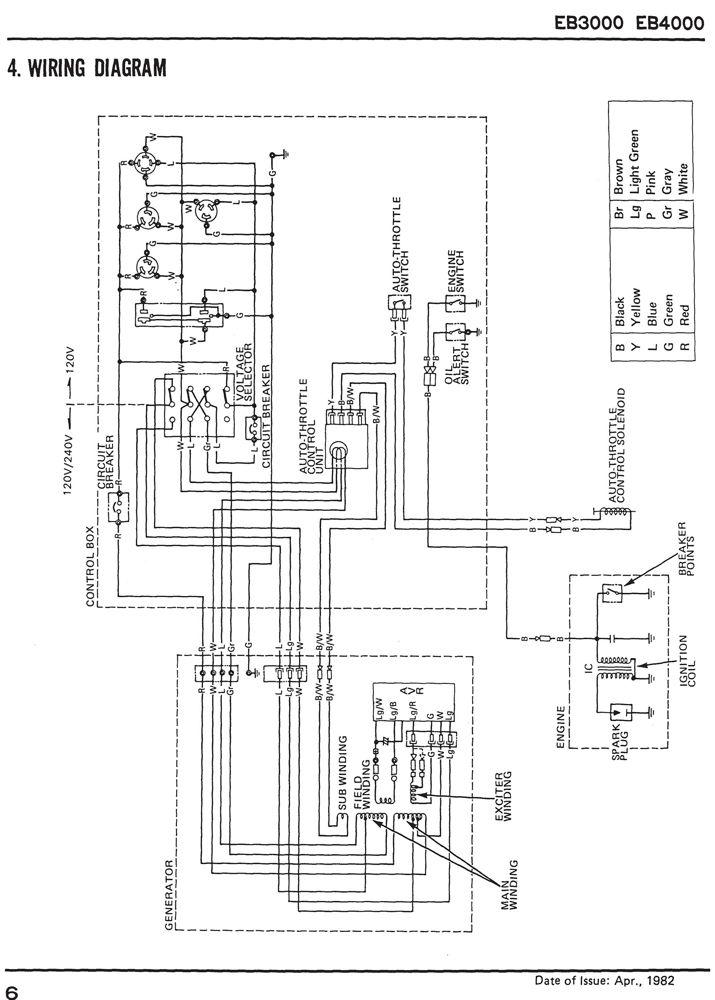 eb3000 eb4000 generator shop manual honda power products. Black Bedroom Furniture Sets. Home Design Ideas