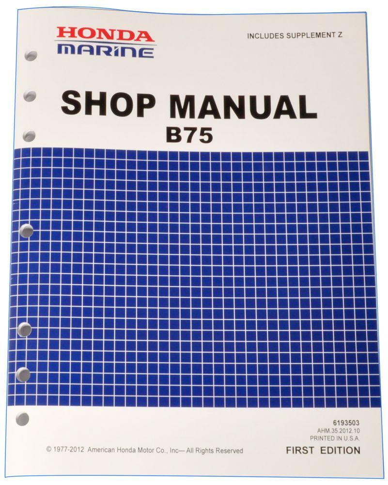 honda marine shop manuals publications honda power products rh publications powerequipment honda com I&T Shop Manuals I&T Shop Manuals