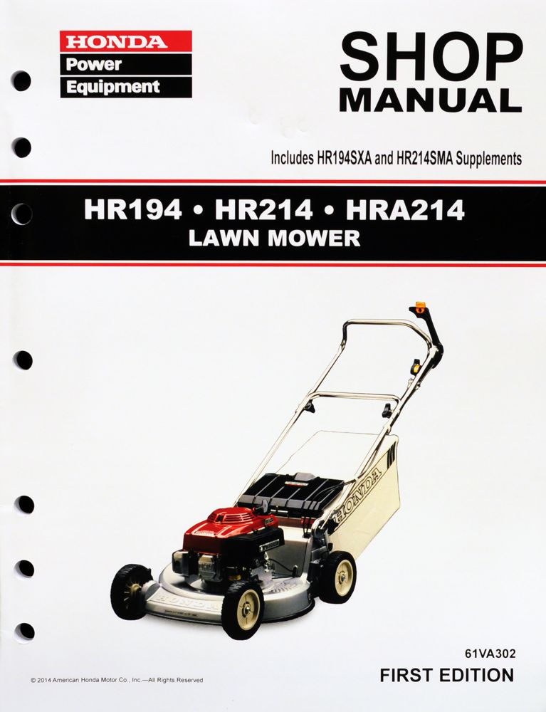 honda power equipment shop manuals publications honda power rh publications powerequipment honda com Honda 4514 Riding Lawn Mowers Fuel Pump Honda 4013