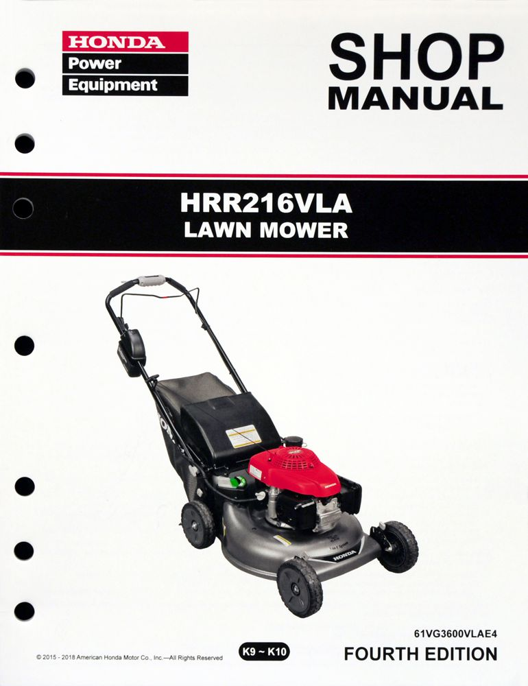 honda power equipment shop manuals publications honda power rh publications powerequipment honda com Honda Motorcycle Service Manual PDF Honda HR214 Service Manual