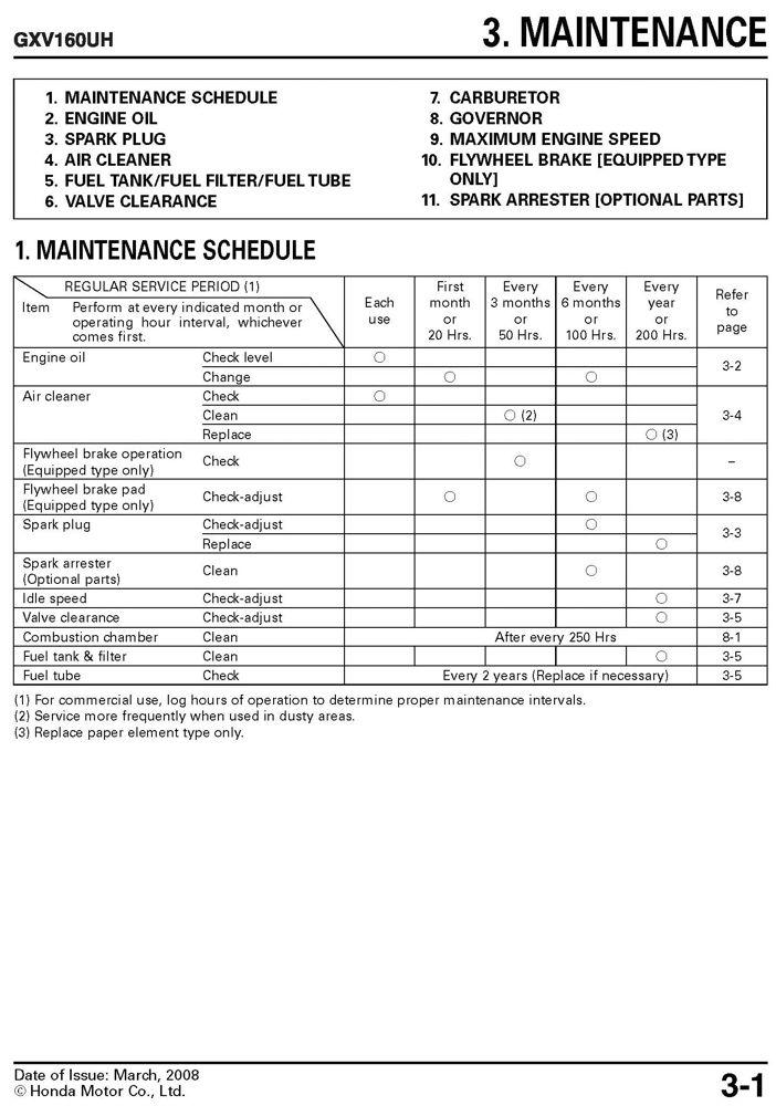 honda gxv160 h2 uh2 engine service repair shop manual honda power rh publications powerequipment honda com honda gx160 service manual pdf honda gxv160 service manual