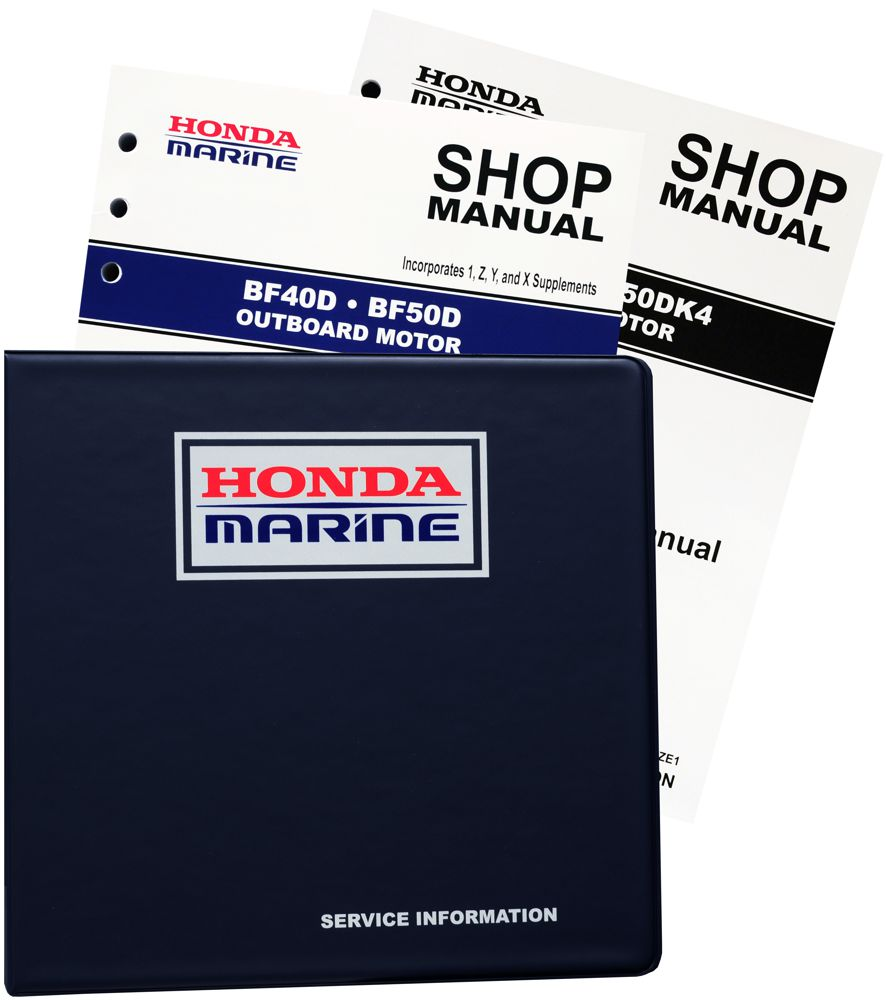 BF40D BF50D Model Marine Outboard Motor Shop Manual