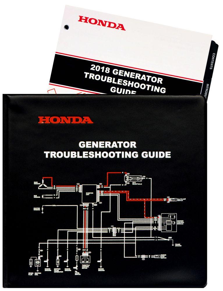 honda generator troubleshooting diagnostic repair service manual rh publications powerequipment honda com Honda 6500 Generator Honda 3500 Generator