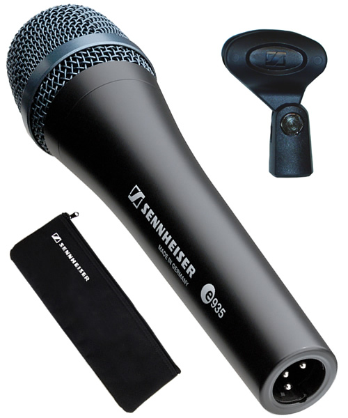 sennheiser e935 cardioid dynamic handheld vocal microphone e 935 mic new ebay. Black Bedroom Furniture Sets. Home Design Ideas