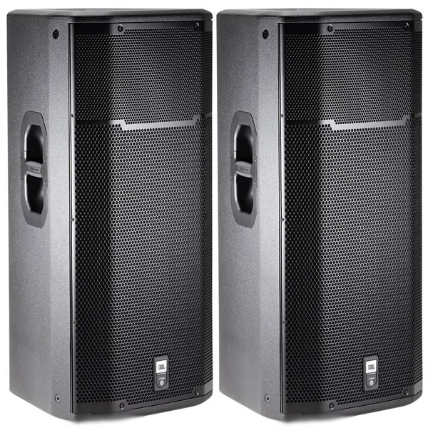 jbl prx635 powered 3 way pa speaker prx 635 active loudspeaker pair ebay. Black Bedroom Furniture Sets. Home Design Ideas