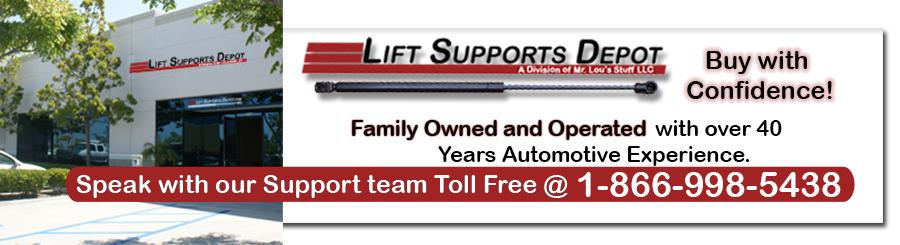 Lift Supports Depot Header