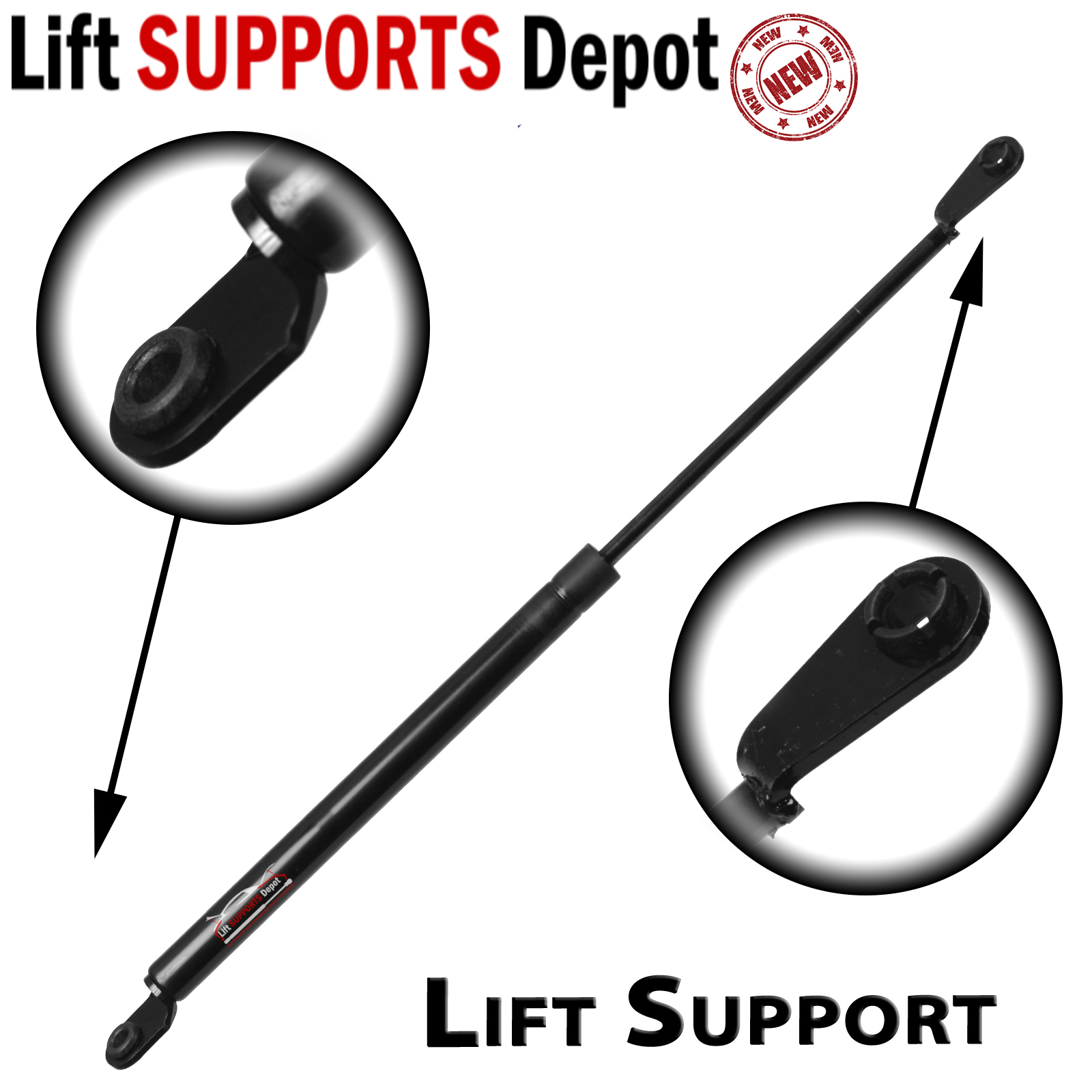 Fits Suzuki Samurai 1981 To 1988 Rear Door Lift Support 1 Tin Roof Only Qty