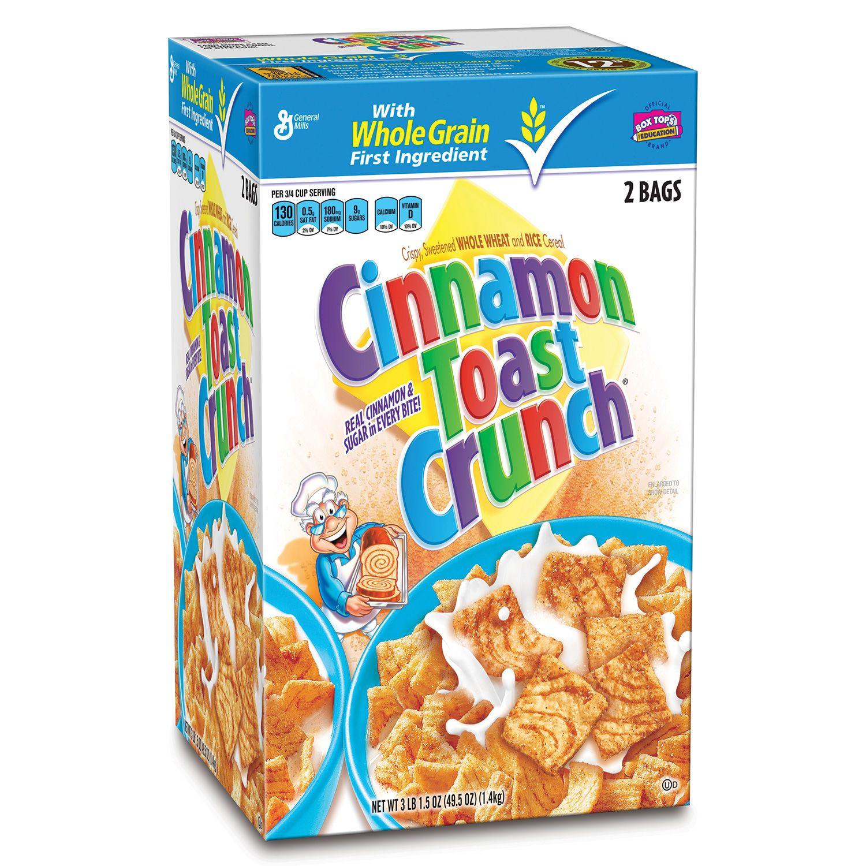 Cinnamon Toast Crunch, 2 Bags, 49.5 Oz. Total