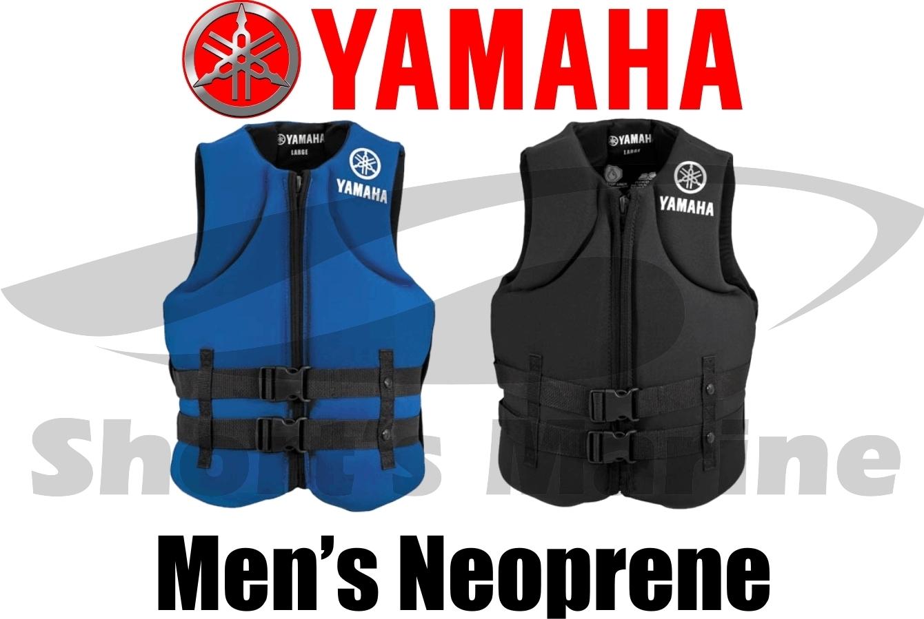 Yamaha Waverunner Value Neoprene Life Jacket Vest Pfd Ebay