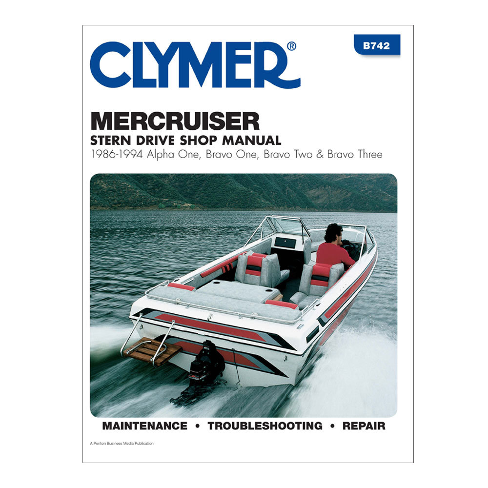 Clymer Repair Manual Mercruiser 86-94 Alpha Bravo