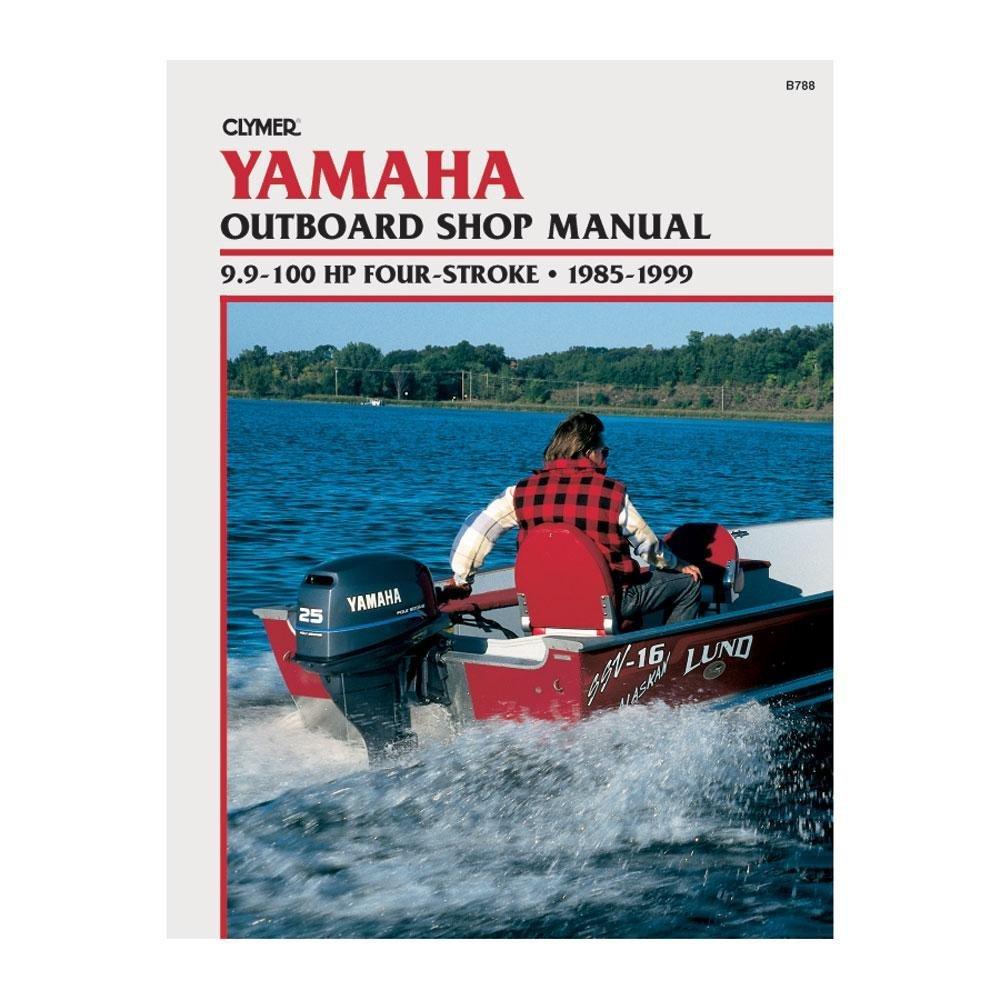 Clymer Repair Manual Yamaha Outboards 9.9-100 1985-1999