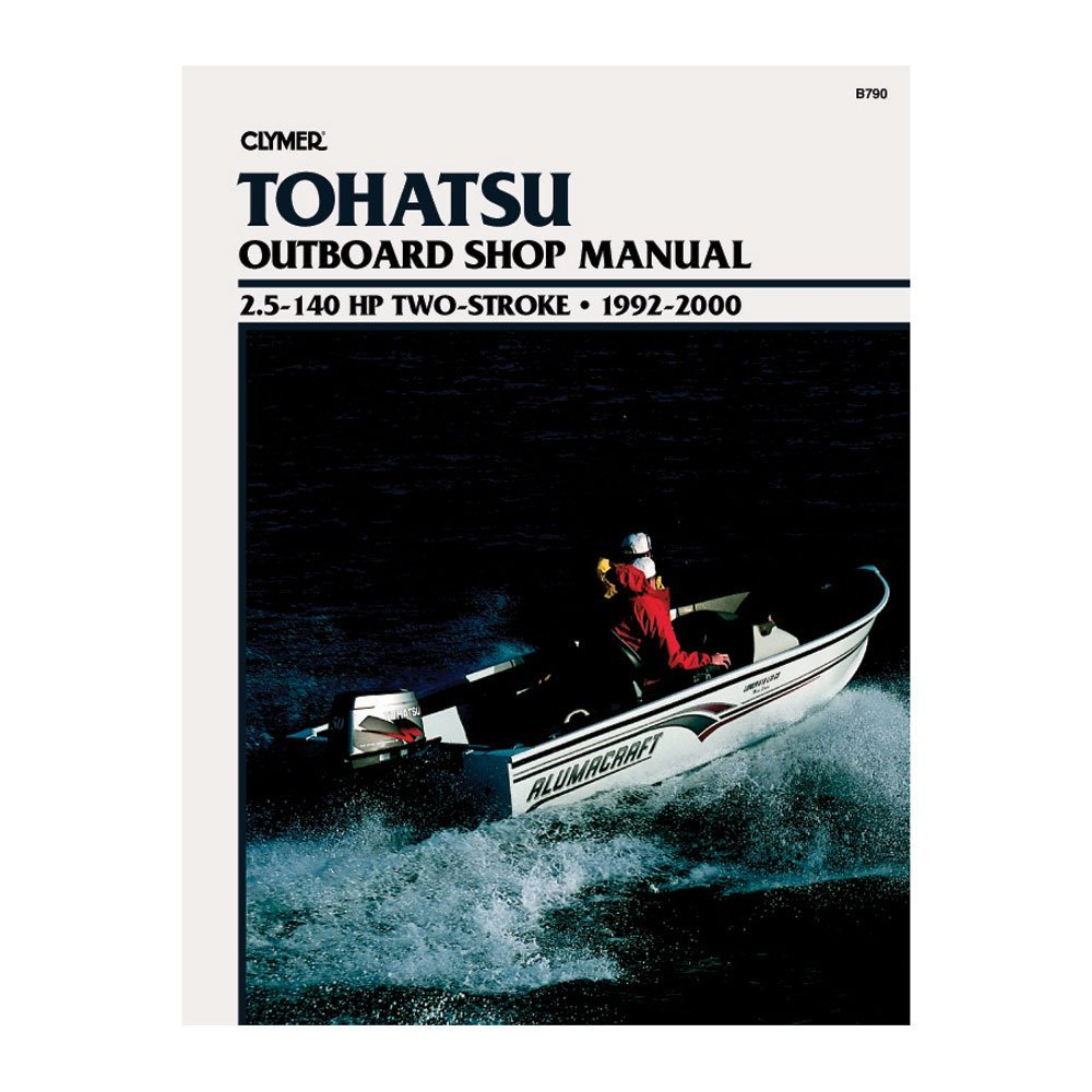 CLYMER Repair Manual TOHATSU 2.5-140HP Outboards 92-00