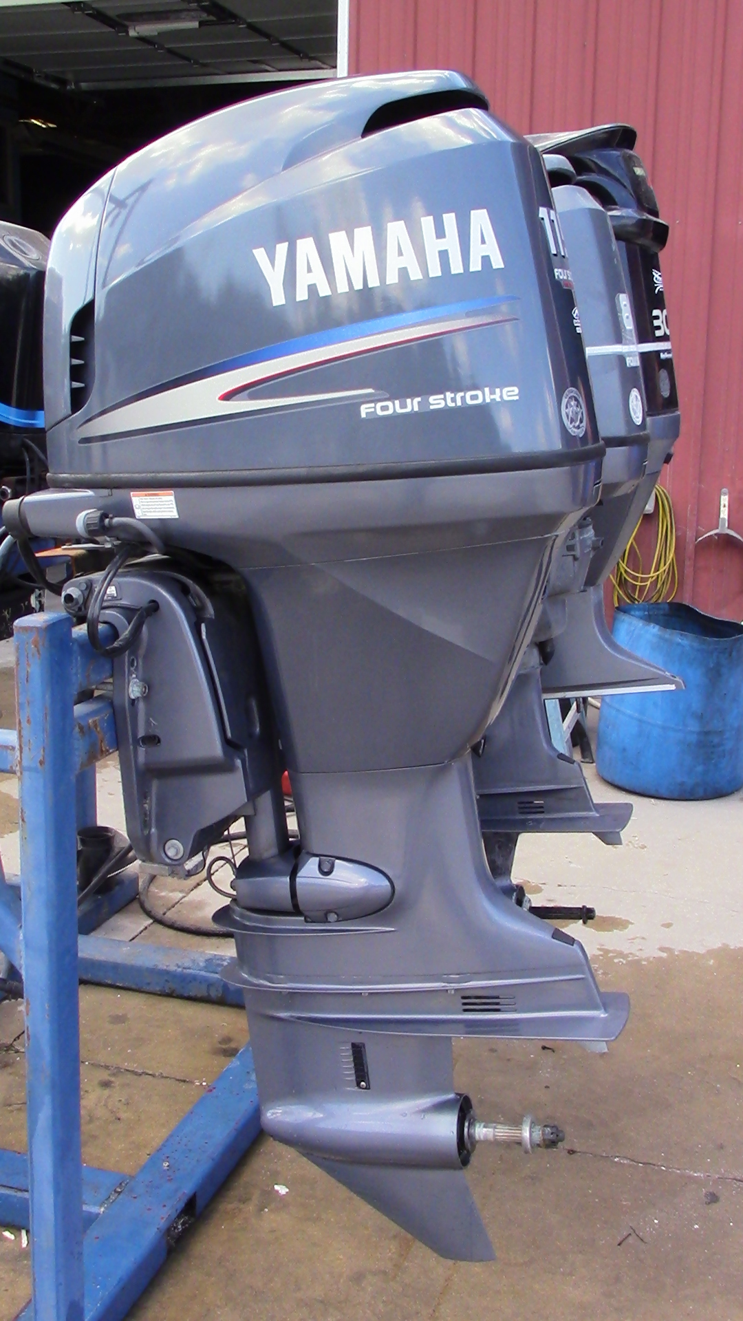 Used 2008 yamaha f115txr 115hp 4 stroke outboard boat for Yamaha outboard parts house