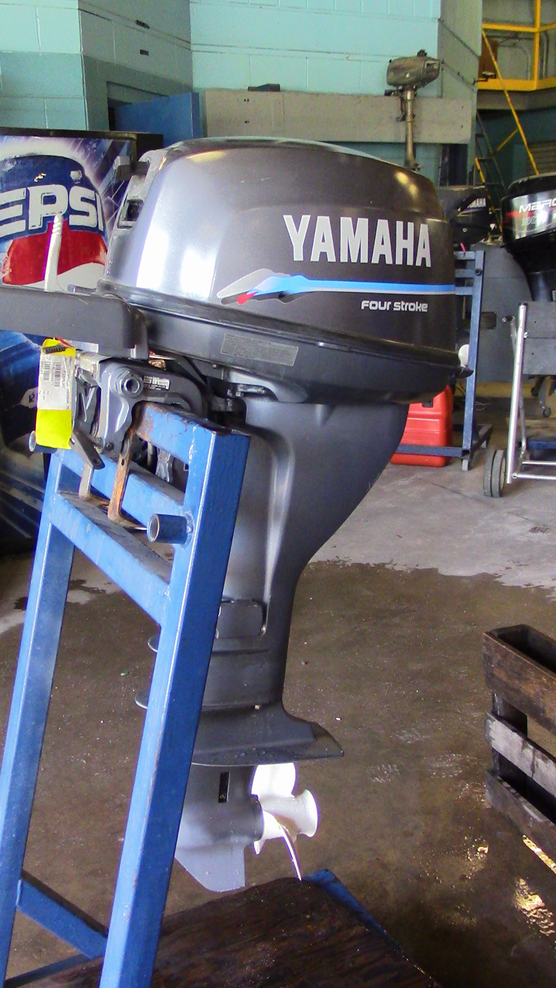 used 2000 yamaha f15mlhy 15hp 4 stroke tiller outboard