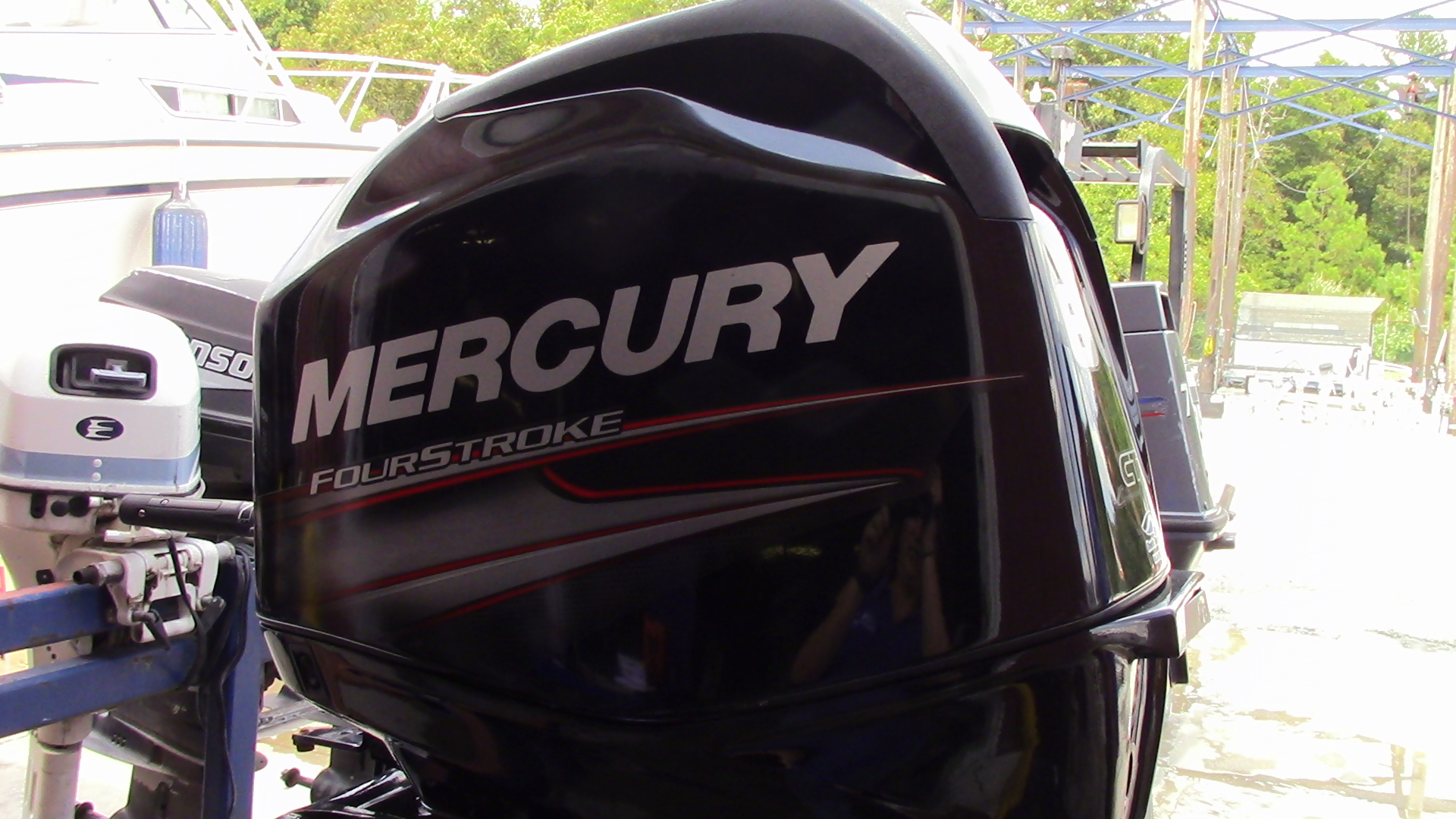 Used 2014 mercury 60elpt ct 60hp command thrust 4 stroke for Buy new mercury outboard motor