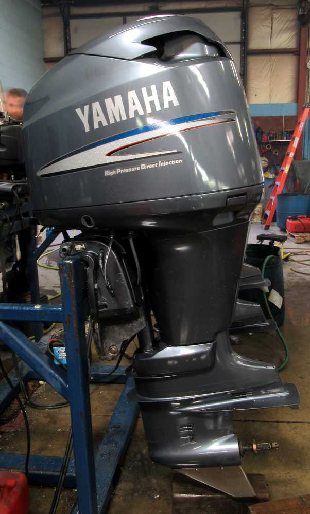 Yamaha Outboard model by serial number service manual