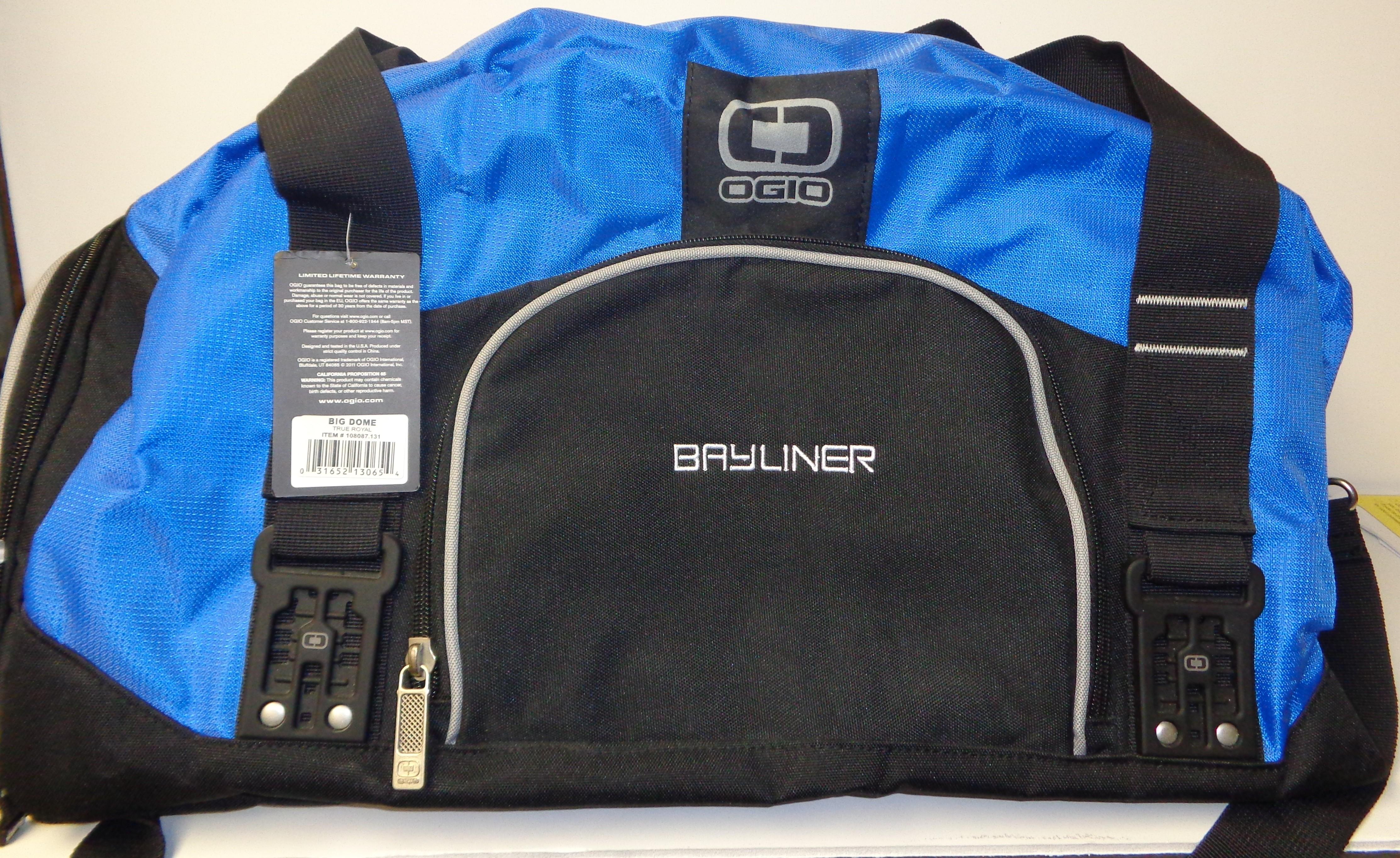 Bayliner Ogio Dome Duffel Bag 780848344923 | eBay