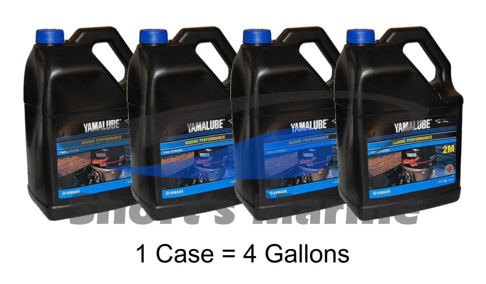 Details about Yamaha Yamalube Outboard Marine Performance 2-Stroke TCW-3  Oil Case of 4 Gallons