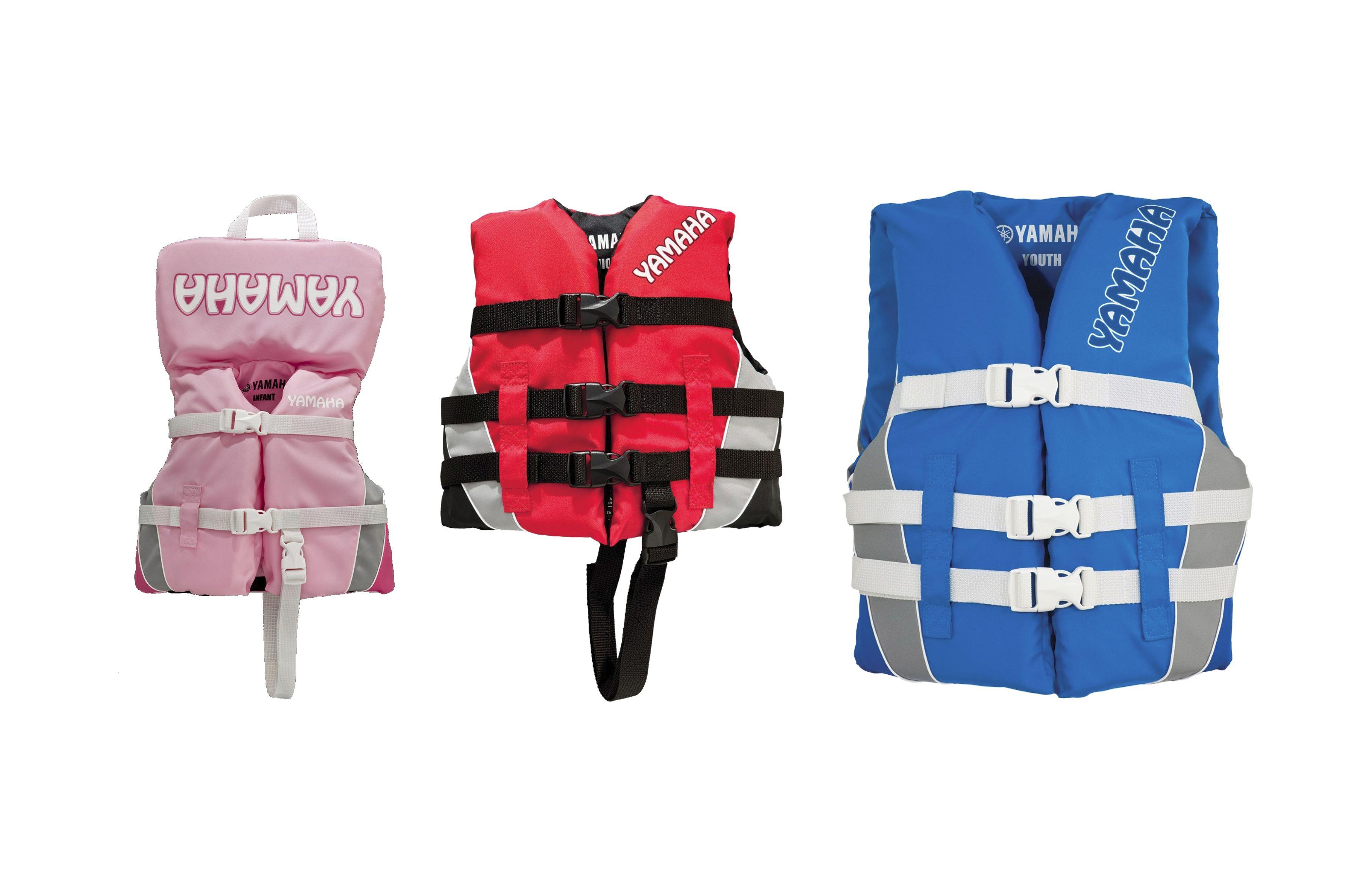 Oem Yamaha Waverunner Children S Nylon Life Jacket Vest Ebay