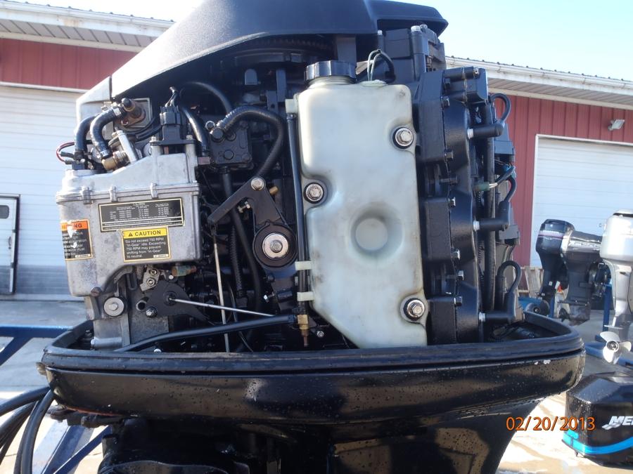 "Used 1999 Mercury 225XL EFI Boat 225HP Boat Motor Outboard 25"" Shaft"