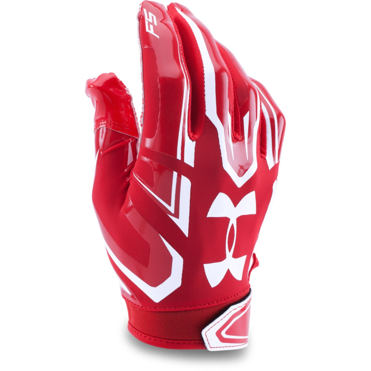 Boys Under Armour F5 Football Gloves Red 600 Youth Large Ebay