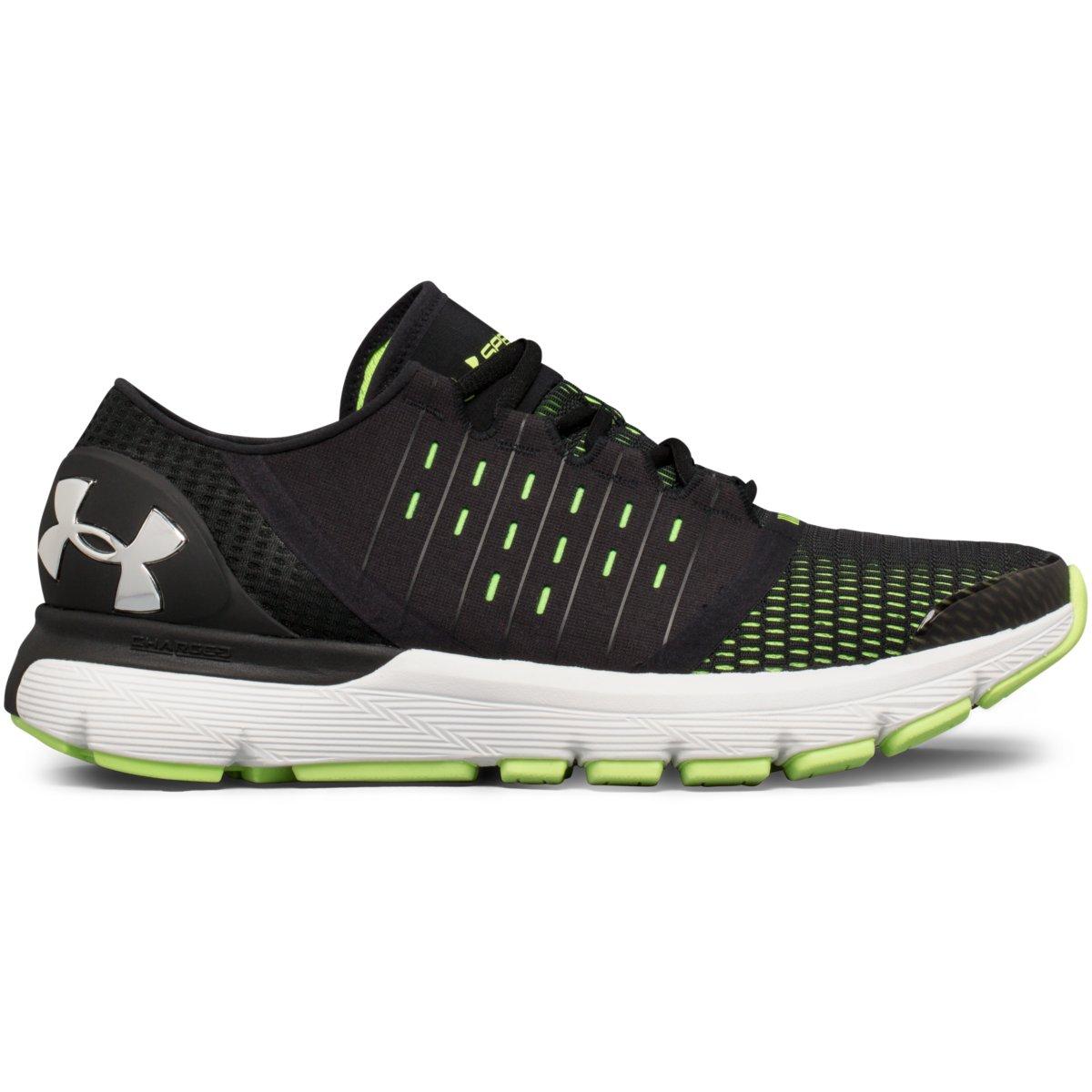 0c7cec81b4c1 ... Men s Under Armour Speedform Speedform Speedform Europa Running Shoe  Black Quirky Lime Chrome 61d1ab