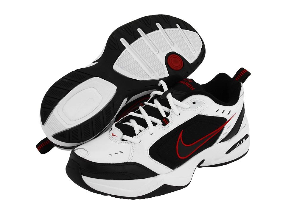 online store e5cfb 3ac11 Men s Nike Air Monarch IV (4E) Training Shoe   Color White Black