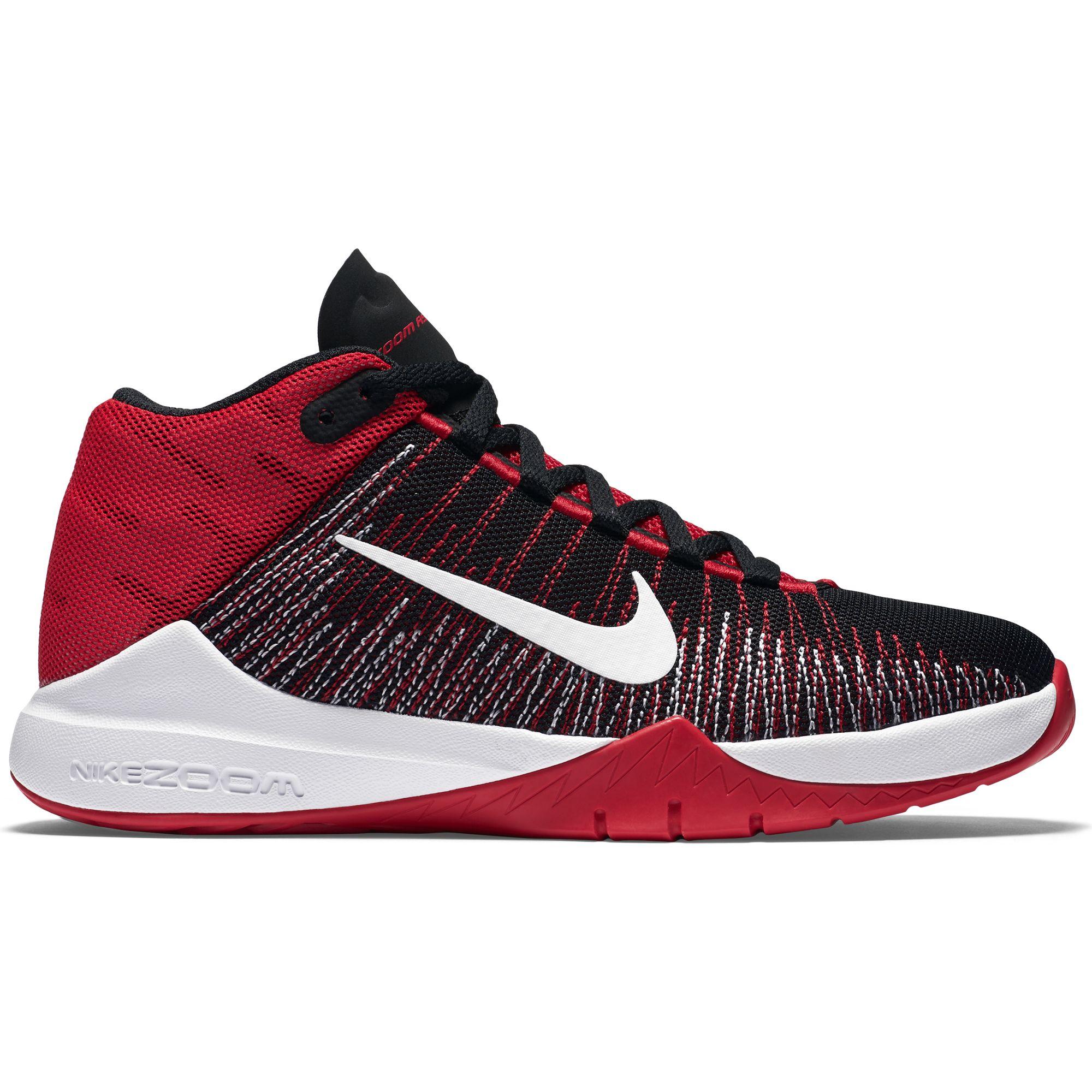 5b4622e49fdb16 Boy s Nike Zoom Ascention (GS) Basketball Shoe - Sieverts Sporting Goods