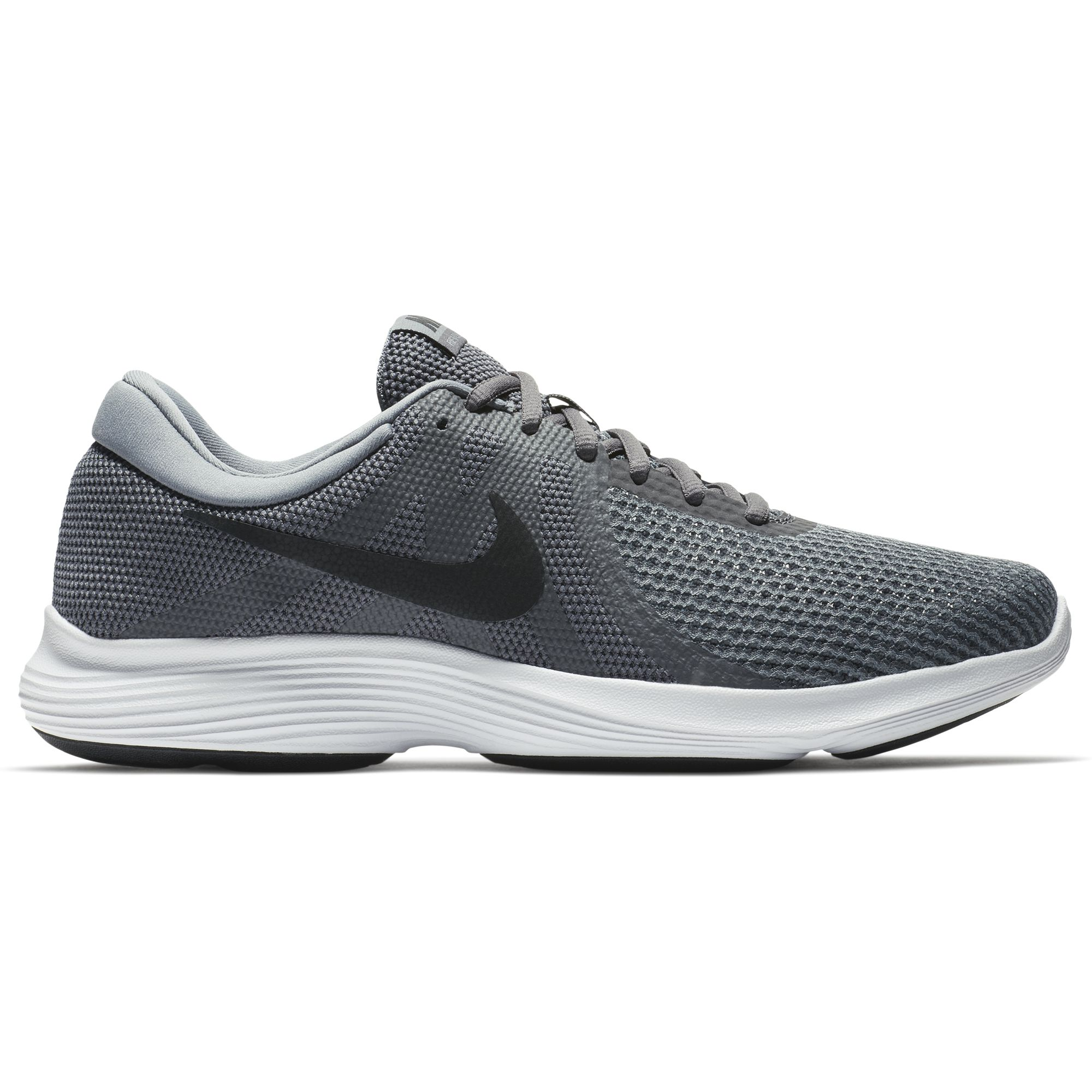 Nike Men's Flex Contact Running Shoe, Midnight NavyWhite Black, 9.5