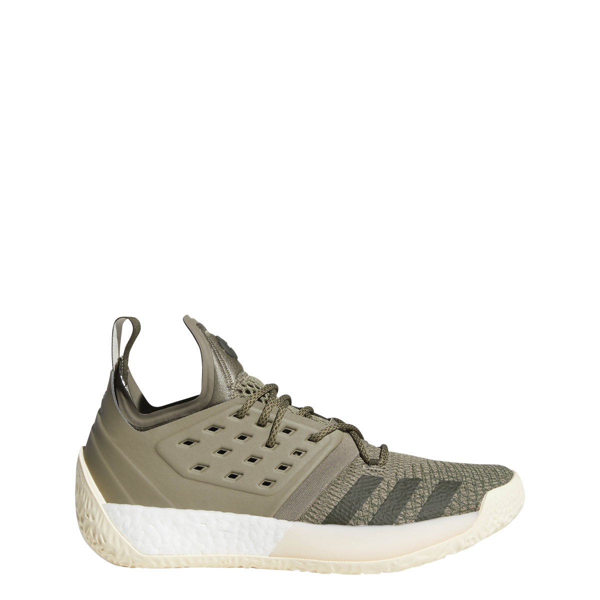 huge selection of 59015 88d33 Details about Men s Adidas Harden Vol 2 Basketball Shoe Trace Cargo Ecru  Tint Night Cargo