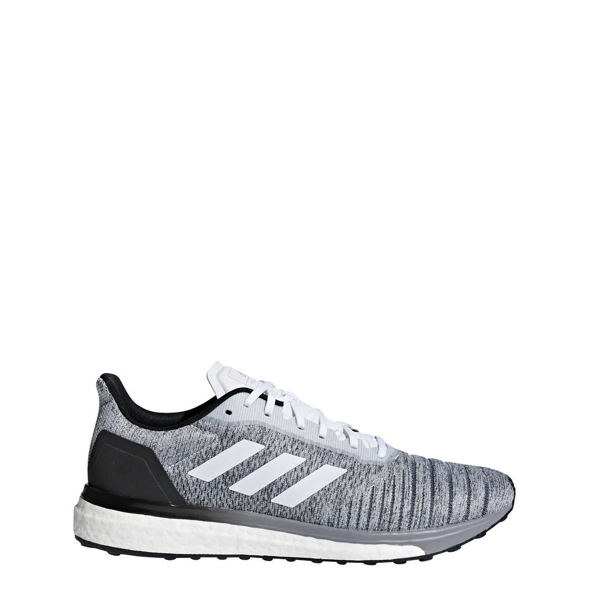 379d920b2acb97 Details about Men s Adidas Solar Drive M Running Shoe White Black