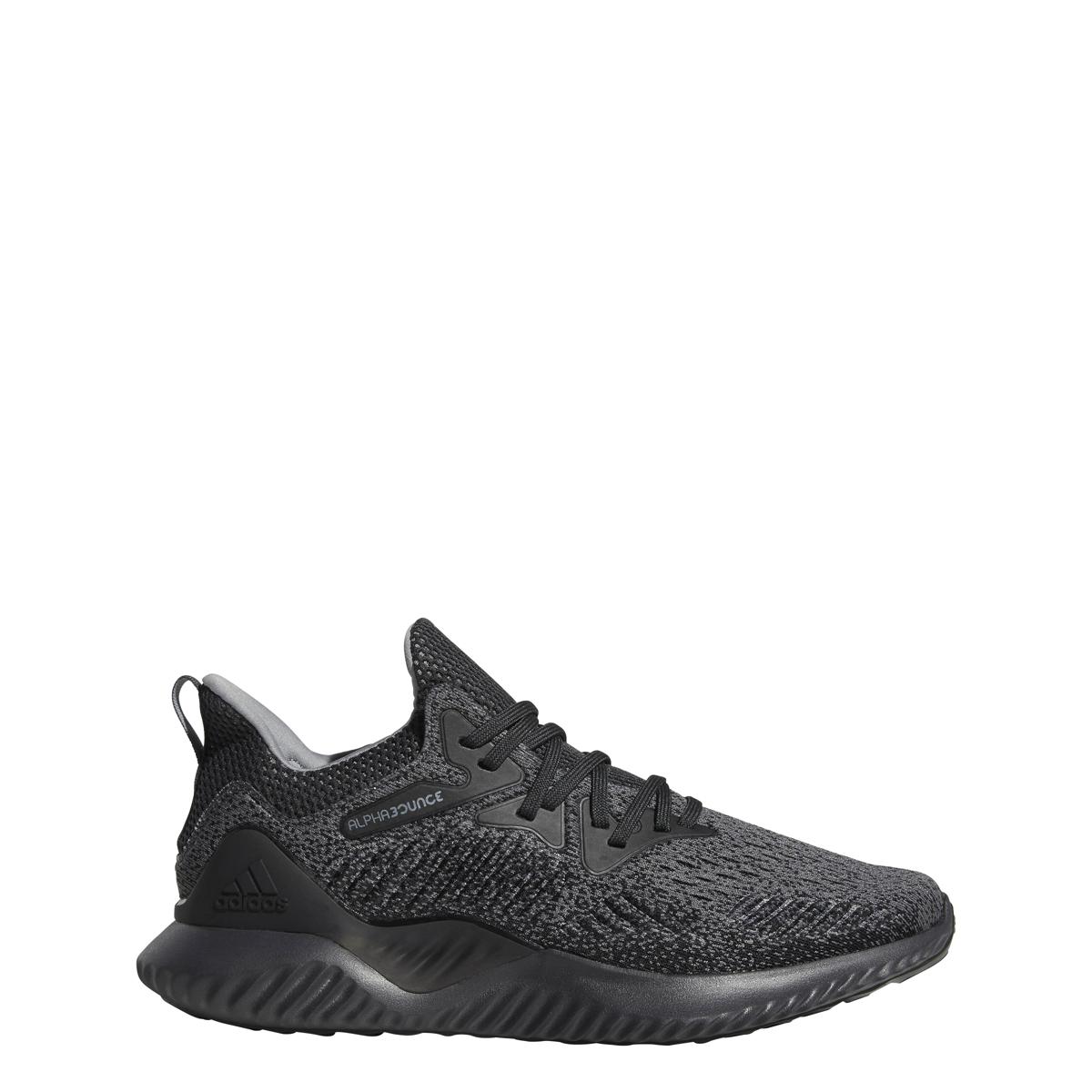 Männer adidas alphabounce danach laufschuh kohlenstoff drei / grau / schwarz drei kohlenstoff 01acfc