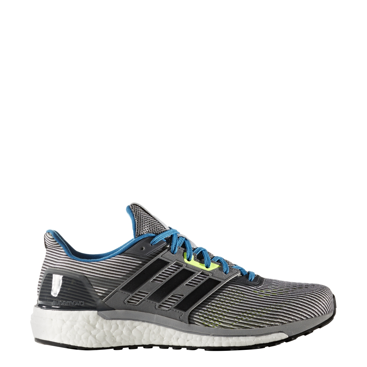 promo code 721a0 9ec15 ... Mr Ms Men s Adidas Supernova Supernova Supernova Running Shoe Grey Black Blue  Durable ...