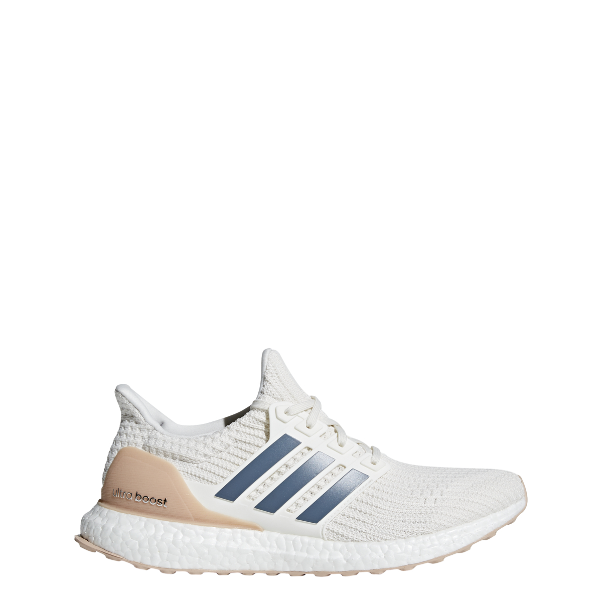 fe7762966 Details about Men s Adidas UltraBOOST Running Shoe Cloud White Tech Ink Vapor  Grey