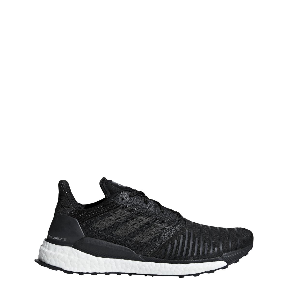 Menos pobre Desmenuzar  Men's Adidas Solar Boost M Running Shoe Black/Grey Four/White | eBay